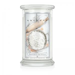 Kringle Candle Baker s Vanilla - świeca duża - e-candlelove