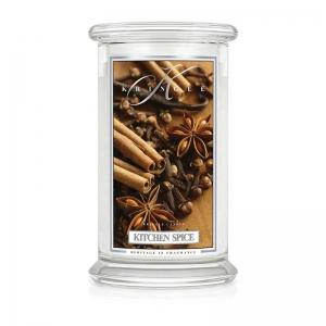 Kringle Candle Kitchen Spice - duża świeca zapachowa - Candlelove