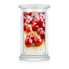 Kringle Candle Royal Cherries - duża świeca zapachowa - e-candlelove