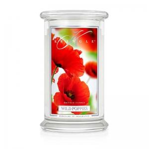 Kringle Candle Wild Poppies - duża świeca zapachowa - Candlelove