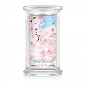 Kringle Candle Cherry Blossom - duża świeca zapachowa - e-candlelove