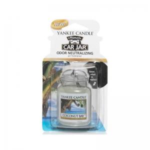 Yankee Candle Coconut Bay Car Jar Ultimate - zapach samochodowy - Candlelove