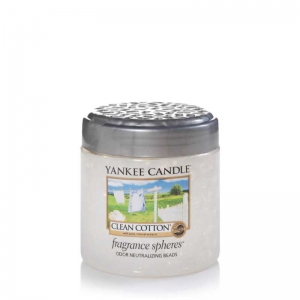 Yankee Candle Fragrance Spheres Clean Cotton - kuleczki zapachowe - Candlelove