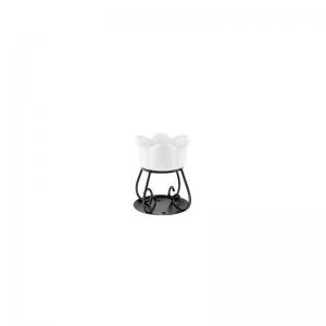 Yankee Candle Petal bowl - kominek zapachowy biały - Candlelove