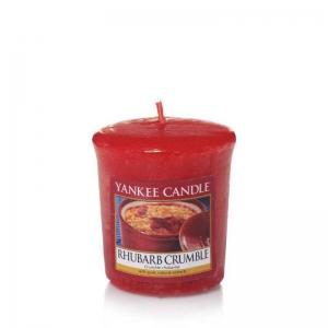 Yankee Candle Rhubarb Crumble - sampler - Candlelove
