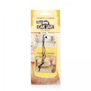 Yankee Candle Vanilla Cupcake Car Jar - zapach samochodowy - Candlelove