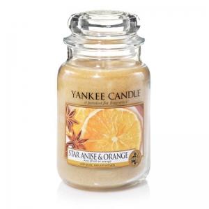 Yankee Candle Star Anise & Orange - duża świeca zapachowa - e-candlelove