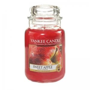 Yankee Candle Sweet Apple - duża świeca zapachowa - e-candlelove