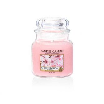 Yankee Candle Cherry Blossom - średnia świeca zapachowa - e-candlelove