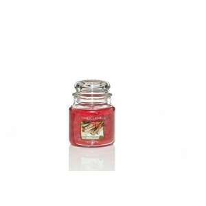 Yankee Candle Sparkling Cinnamon - średnia świeca zapachowa - e-candlelove