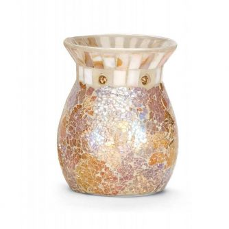 Yankee Candle Gold and pearl Mosaic - kominek zapachowy - e-candlelove