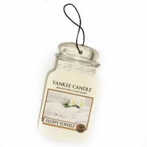 Yankee Candle Fluffy Towels Car Jar - zapach samochodowy
