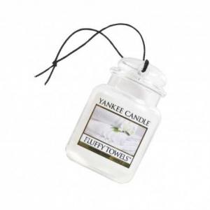Yankee Candle Fluffy Towels Car Jar Ultimate – zapach samochodowy