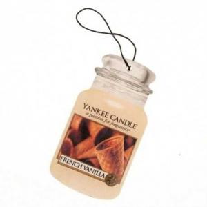 Yankee Candle French Vanilla Car Jar – zapach samochodowy.