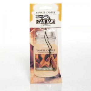 Yankee Candle French Vanilla Car Jar - zapach samochodowy - e-candlelove