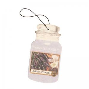 Yankee Candle Lavender Vanilla Car Jar – zapach samochodowy.