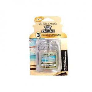 Yankee Candle Sun & Sand Car Jar Ultimate - zapach samochodowy - e-candlelove