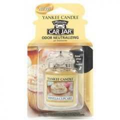 Yankee Candle Vanilla Cupcake Car Jar Ultimate - zapach samochodowy - e-candlelove