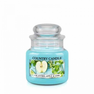 Country Candle Cilantro, Apple & Lime - mała świeca zapachowa - e-candlelove