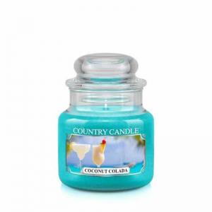 Country Candle Coconut Colada - mała świeca zapachowa - e-candlelove