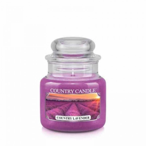 Country Candle Country Lavender - mała świeca zapachowa - e-candlelove