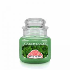 Country Candle Pine & Pomelo - mała świeca zapachowa - e-candlelove