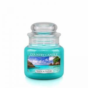 Country Candle Tropical Waters - mała świeca zapachowa - e-candlelove