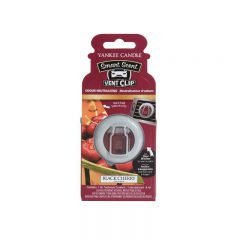Yankee Candle Black Cherry Car Vent Clip - zapach samochodowy - e-candlelove