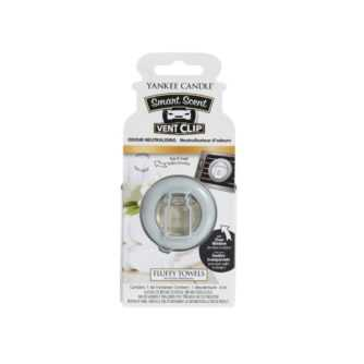 Yankee Candle Fluffy Towels Car Vent Clip - zapach samochodowy - e-candlelove