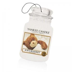 Yankee Candle Soft Blanket Car Jar - zapach samochodowy - e-candlelove