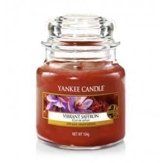 Yankee Candle Vibrant Saffron - mała świeca zapachowa - e-candlelove