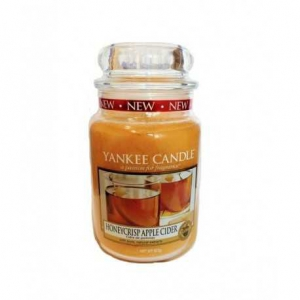 Yankee Candle Honeycrisp Apple Cider - duża świeca zapachowa - e-candlelove