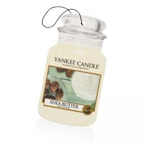 Yankee Candle Shea Butter Car Jar - zapach samochodowy - e-candlelove - candlelove