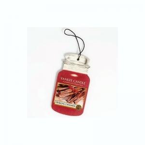 Yankee Candle Sparkling Cinnamon Car Jar – zapach samochodowy