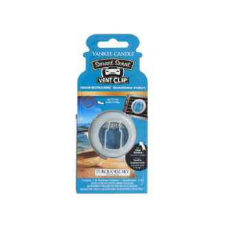 Yankee Candle Turquoise Sky Car Vent Clip - zapach samochodowy - e-candlelove