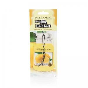Yankee Candle Sicilian Lemon Car Jar - zapach samochodowy - e-candlelove