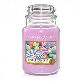 Yankee Candle Sweet Candies - duża świeca zapachowa - e-candlelove