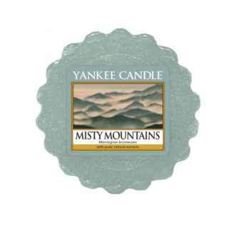 Yankee Candle Misty Mountains - wosk zapachowy - e-candlelove