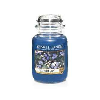 Yankee Candle Blueberry - duża świeca zapachowa - e-candlelove