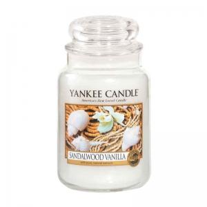Yankee Candle Sandalwood Vanilla - duża świeca zapachowa - e-candlelove
