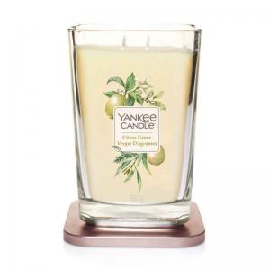 Yankee Candle Citrus Grove Elevation Coll. W/Plt Lid - duża świeca zapachowa - e-candlelove