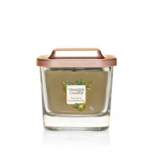 Yankee Candle Pear & Tea Leaf – mała kwadratowa świeca z jednym knotem