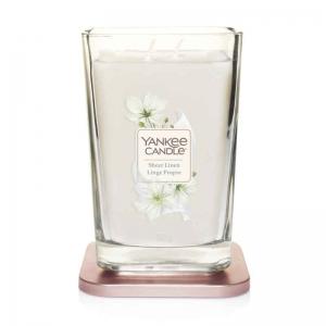 Yankee Candle Elevation Sheer Linen - duża świeca zapachowa