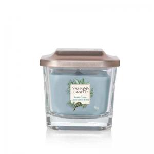 Yankee Candle Coastal Cypress Elevation Coll. W/Plt Lid - mała świeca zapachowa -candlelove