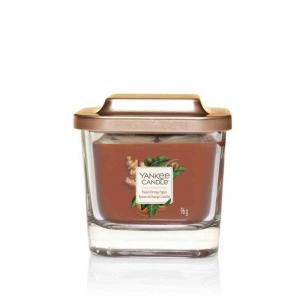 Yankee Candle Sweet Orange Spice Elevation Coll. W/Plt Lid - mała świeca zapachowa - candlelove