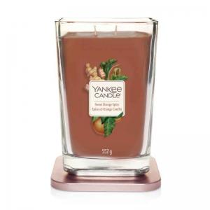 Yankee Candle Sweet Orange Spice Elevation Coll. W/Plt Lid - duża świeca zapachowa - e-candlelove