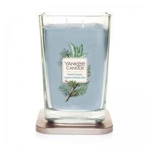 Yankee Candle Elevation Coastal Cypress - duża świeca zapachowa - e-candlelove