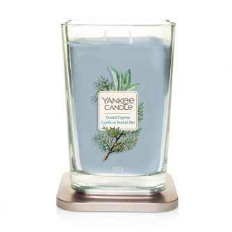 Yankee Candle Coastal Cypress Elevation Coll. W/Plt Lid - duża świeca zapachowa - e-candlelove