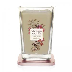 Yankee Candle Velvet Woods Elevation Coll. W/Plt Lid - duża świeca zapachowa - e-candlelove