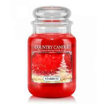 Country Candle Stardust - duża świeca zapachowa - e-candlelove